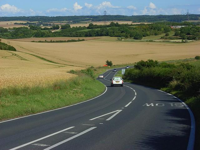 The A417, Moulsford