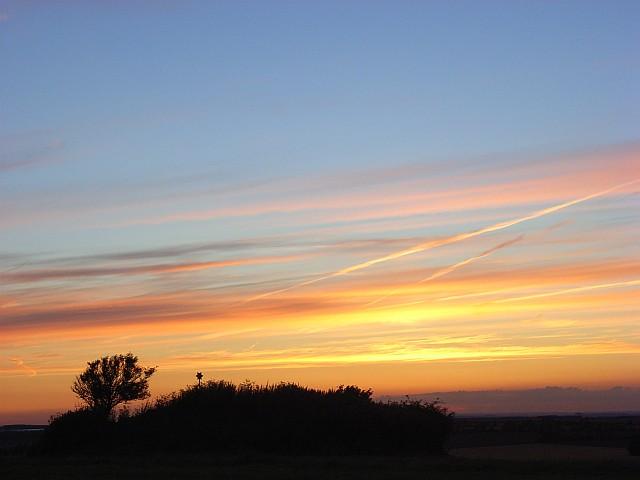 Churn Knob sunset