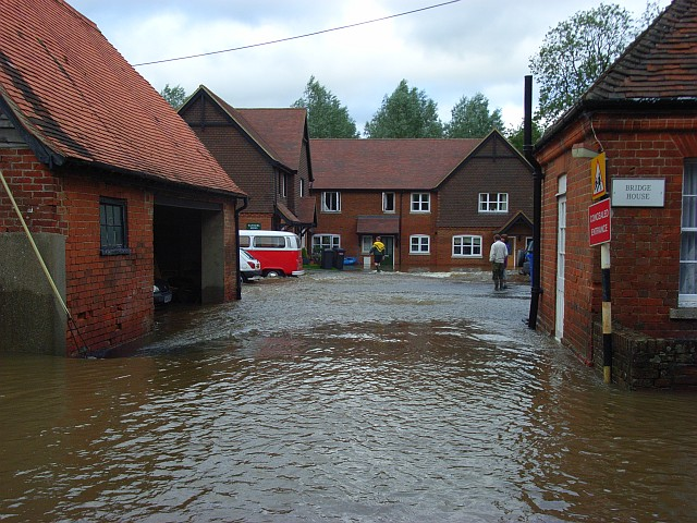 Flooding in Bradfield