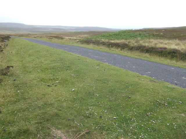 Road across Hepburn Moor