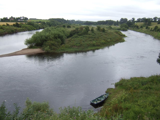 Canny Island and the Tweed