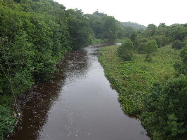 Whiteadder Water - upstream
