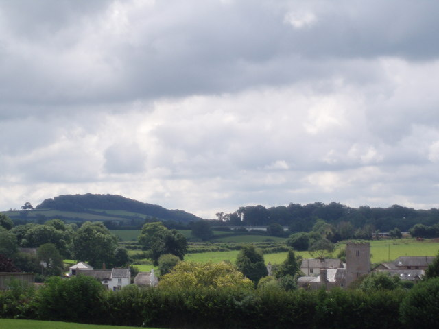 View across East Ogwell