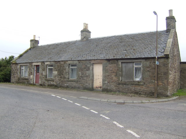Cotter houses at Penston