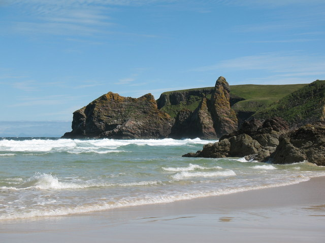 Rock stacks and pinnacles at Tealair