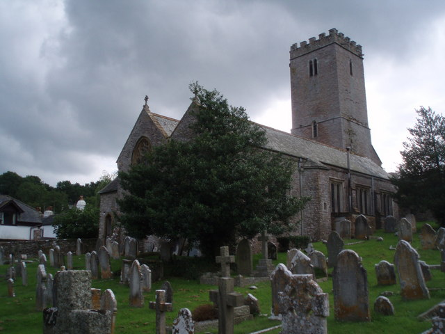 East Ogwell Church Yard and Church