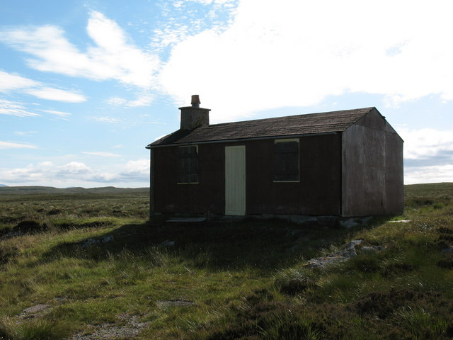 Sheiling on the moor