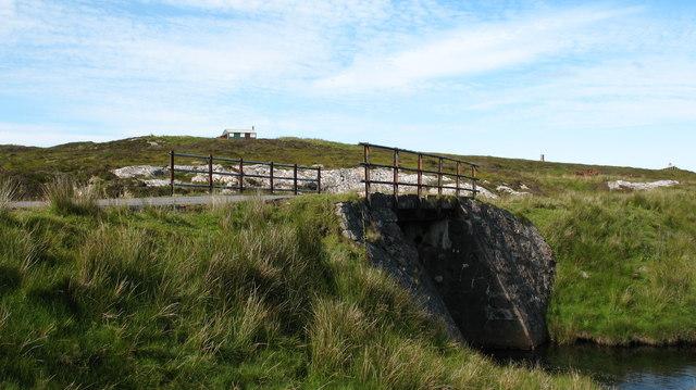 Bridge over the Abhainn Ghrioda