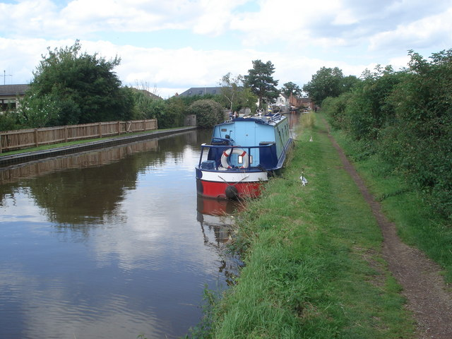 Worcester & Birmingham Canal at Stoke Works