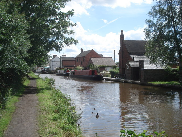 The Worcester & Birmingham Canal at Stoke Works