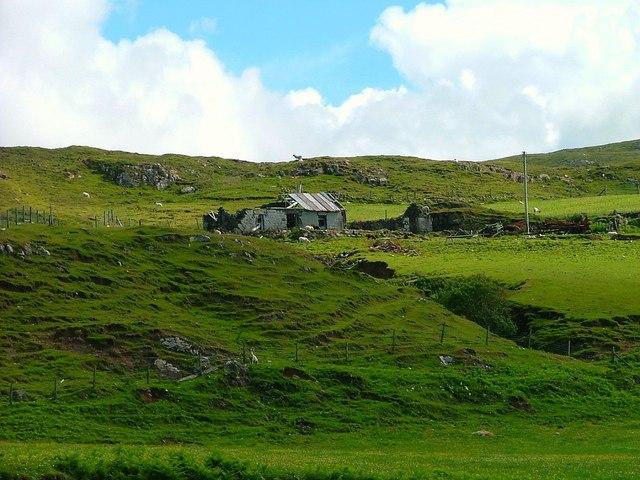 Ruined Crofthouse at Hamaraverin