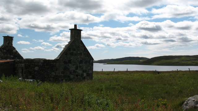 Ruined cottage on Great Bernera
