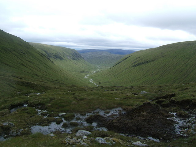 Descending towards Glenbeg