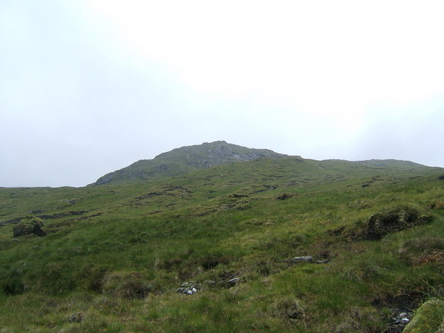 View towards Sròn an Tomain Choinich