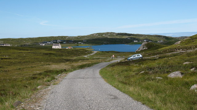 The road to Breacleit.