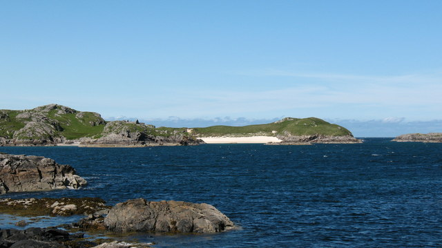 Looking across to Little Bernera [Bearnaraigh Beag]