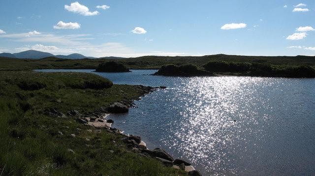 Islets in Loch Morsgail