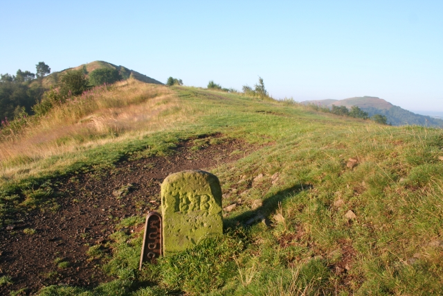 Boundary Stone at the Foot of Pinnacle Hill