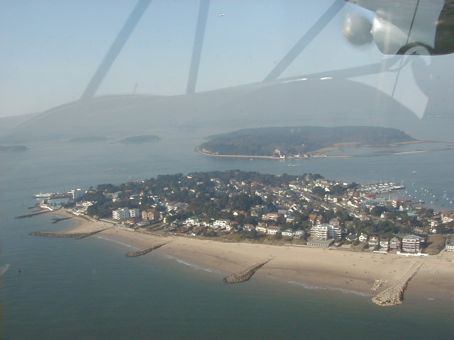 Sandbanks from the air