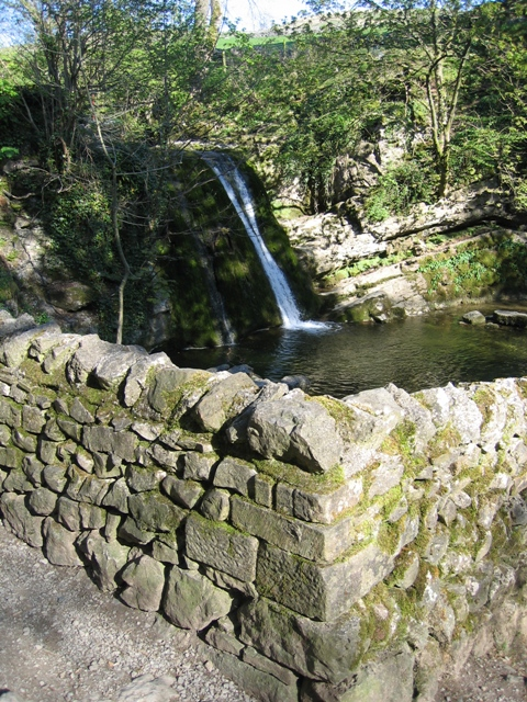 Janet's Foss from the Footpath above the Pool