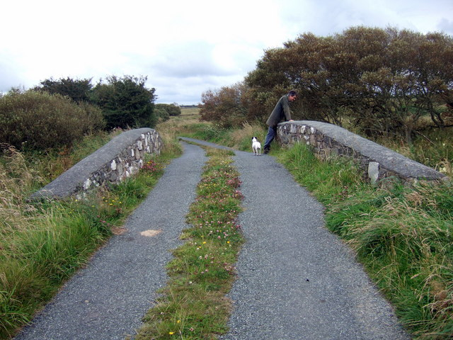 Moorland bridge