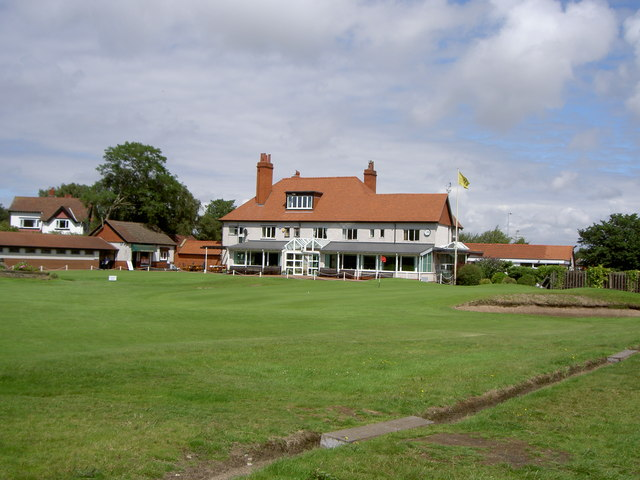 Wirral Ladies Golf Course Clubhouse.