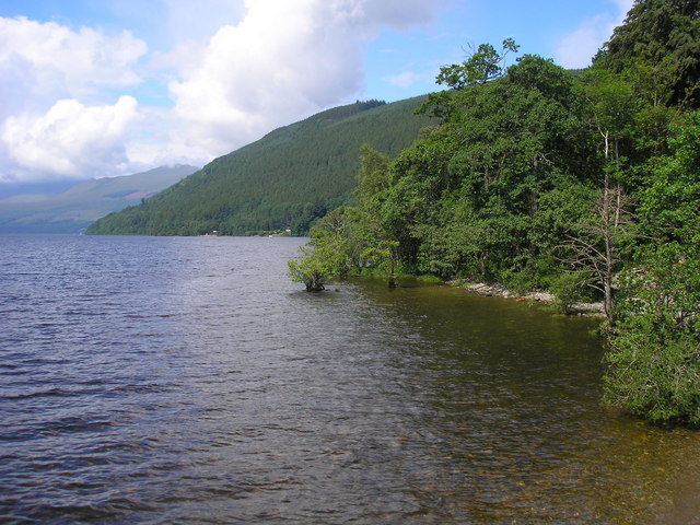 Northern Shore of Loch Tay at Kenmore