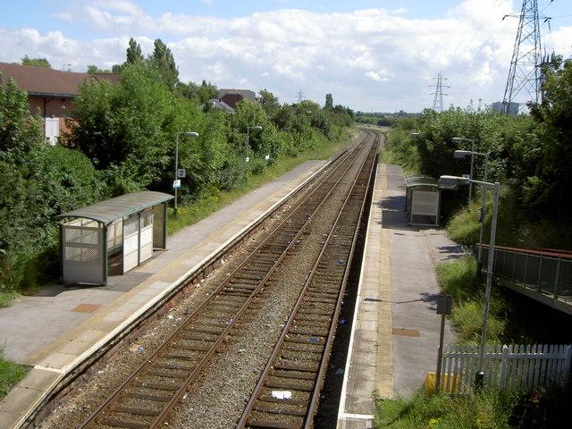 Upton Railway Station
