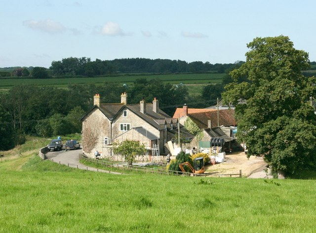 2007 : Barrow Farm, nr. Witham Friary