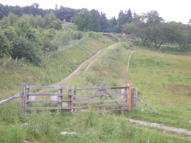 The Track to Drumnagowan