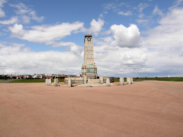 War Memorial - Empress Gardens Whitley Bay