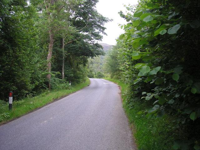 The Road to Loch Tummel