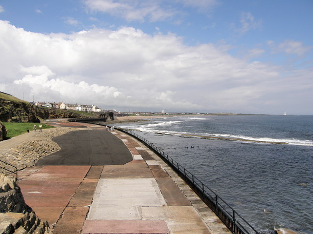 Paddling Pool Area - Whitley Bay from South