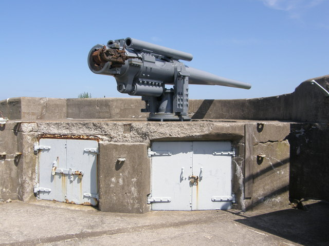 Gun Emplacement - The Battery Tynemouth