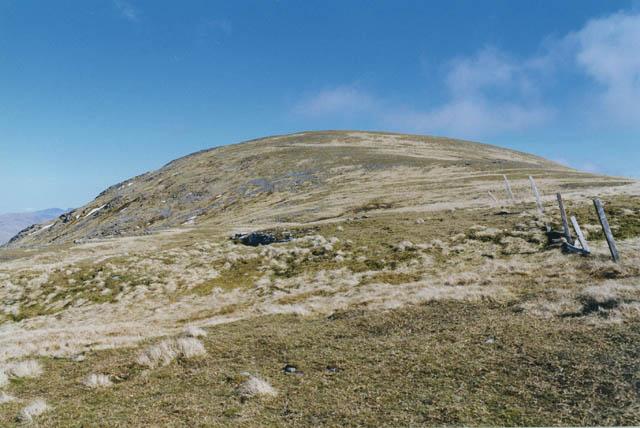 Western approach to Beinn Mhanach