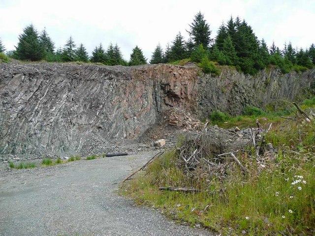 Forest quarry under Kilburn Hill