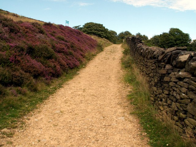 The Kirklees Way from Digley Reservoir
