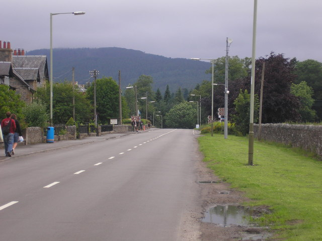 The Main Road through Blair Atholl
