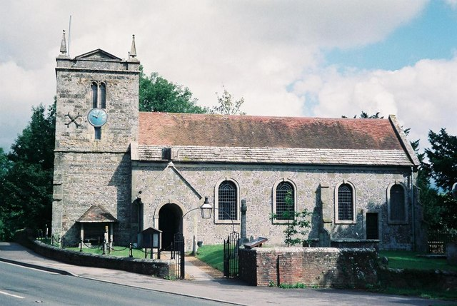 Charlton Marshall: parish church of St. Mary