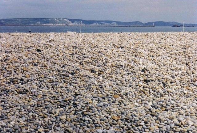 Pebbles, lots of pebbles