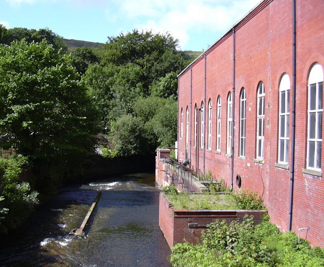 River Irwell at Hareholme