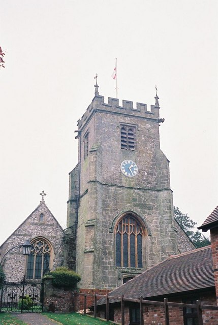 Child Okeford: parish church of St. Nicholas