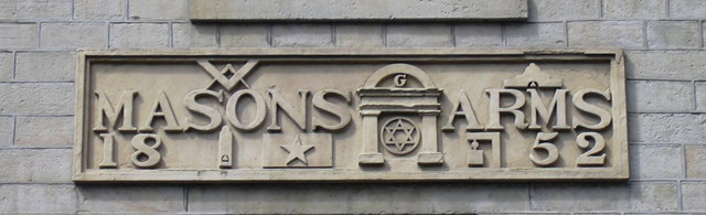 Masons Arms Detail