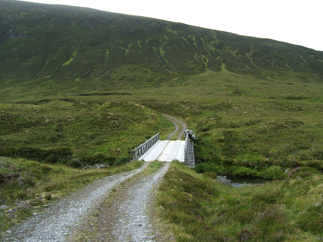 Bridge over the Abhainn a'Ghlinne Bhig