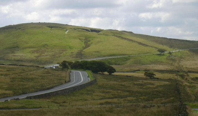 A671 towards Bacup