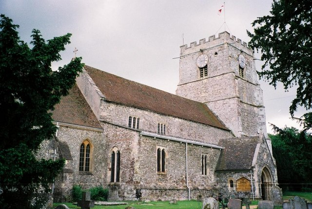 Cranborne: parish church of St. Mary & St. Bartholomew