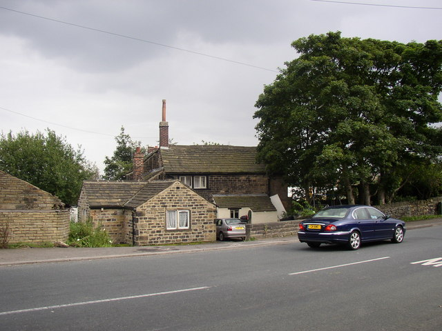 Cottages, Carr Lane, Low Moor, North Bierley