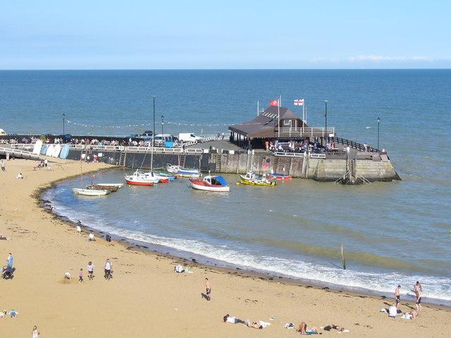 """""""The Quaint Old Pier"""""""