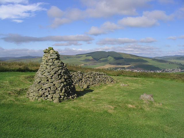 Cairn on Galashiels Golf Course