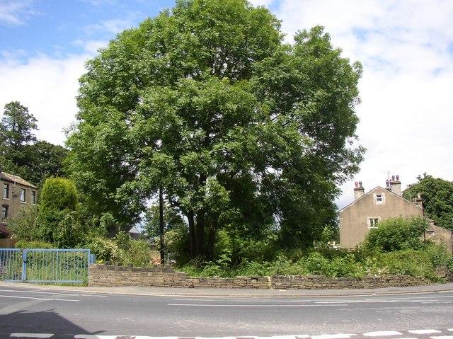Site of smithy, Ogden Lane